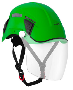 PINNACLE EXO VENT HELMET WITH FACE VISOR
