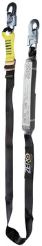 SINGLE ADJUSTABLE WEBBING LANYARD - TRADEMATE - SNAPHOOK
